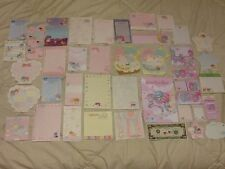 SANRIO LITTLE TWIN STARS STATIONERY LOT 40 PIECES ALL DIFFERENT