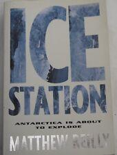 MATTHEW REILLY - ICESTATION - 1st EDITION - PAN MACMILLAN 1998