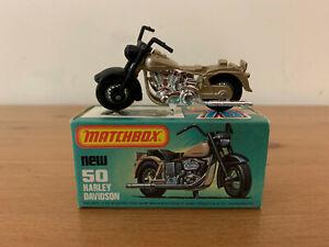 Matchbox Superfast 50 Harley Davidson