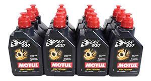Motul 105777 Gear 300 Oil SAE 75W90 100% Synthetic 75W-90 1 Liter - 12 Pack