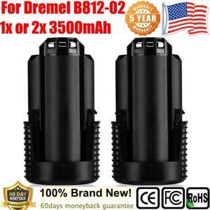12V 3.5AH Rechargeable Battery For Dremel B812-02 8300 8220 8200 12-Volt Lithium