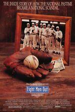 EIGHT MEN OUT - 1988 - original 27x40 movie poster - JOHN CUSACK - Baseball