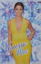 VANESSA MAI - A3 Poster (ca. 42 x 28 cm) - Schlager Fan Sammlung DSDS 2016 NEU