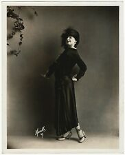 Antique 1910s Early Silent Film Star Margaret Edwards Photograph Murillo Studio