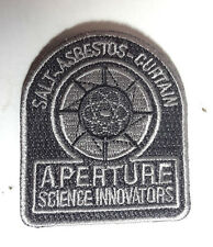 "PORTAL Game- Aperture Science Innovations 2.5"" Patch-USA MailedPORTPA-08)"
