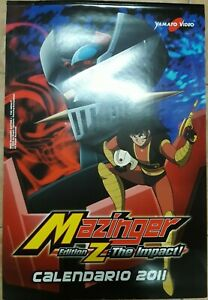 Mazinger Edition z: The Impact!  Calendario Calendar official Yamato Video 2011