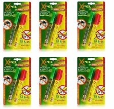 2 X XPEL Adult Kids Mosquito & Insect Repellent Spray Pens DEET 10ml Travel