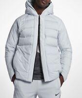 Nike AeroLoft LeBron Men's Basketball Jacket 868966-043 Pure Platinum Size M New