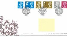 GB - FIRST DAY COVER - FDC - DEFINITIVES -2009 - 6 val to £1.00 - Pmk W