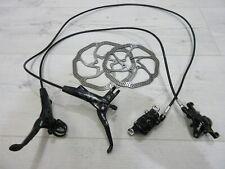 Avid / Sram XO Carbon MTB Bike Disc Brake set Front & Rear 180 160 Rotors ti sl