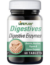 Lifeplan Digestive Enzymes 60 Tablets - Aid to Healthy Digestion
