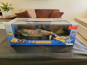 21st Century - The Ultimate Soldier - 1:18 - P-40 Warhawk Flying Tiger -Sealed