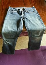 Sz 26 CITIZENS OF HUMANITY (COH) Kelly 001 stretch MADE IN USA Low Waist bootcut