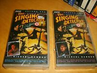 The Singing Detective - 1986 BBC Complete Dennis Potter Mini Series OOP HTF VHS!
