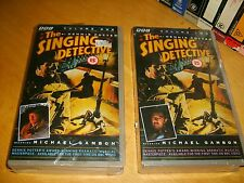 Vhs *The Singing Detective* 1986 BBC Complete Dennis Potter Mini Series OOP  HTF