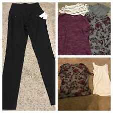 Maternity Clothing Lot Of 7 Size Small 4-6