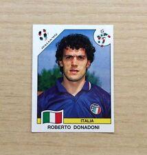 FIGURINE PANINI -  MONDIALI  ITALIA '90 - ROBERTO DONADONI  N°52 - NEW STICKER