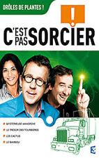 20157// DVD C'EST PAS SORCIER - DROLES DE PLANTES! NEUF DEBALLE 4 X 26 MIN