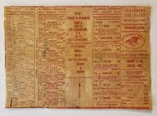 VINTAGE HORSE RACING PROGRAM / HIPODROMO LAS CASAS / PUERTO RICO 1953 RARE #11