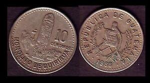 ★★ GUATEMALA ● 10 CENTAVOS 1988 ● E4 ★★