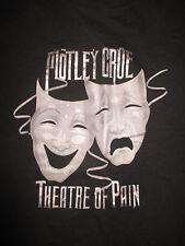 """MOTLEY CRUE """"THEATRE OF PAIN"""" (XL) T-Shirt"""