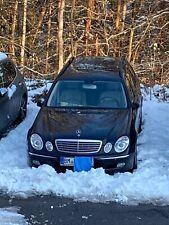 Mercedes E 320 CDI T-Modell (Kombi) Erstzulassung: 03.2003 Obsidianschwarz