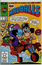 Madballs 1987 series # 7 fine comic book