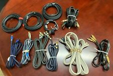 New listing Huge Lot Video & Audio Cables Some Monster - Some Not