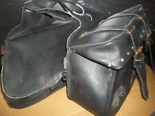 River Road 10-8922 Vintage Motorcycle Saddlebags Set *FREE SHIPPING*
