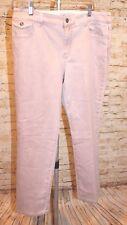 CHICO'S Platinum Denim Rose Quartz Pink Jean Ultimate Fit 1.5