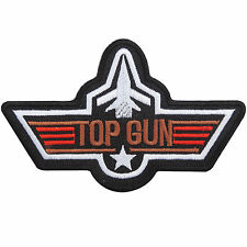 TOP GUN US USA Navy Air Force Pilot Attack Fighter Weapons Iron on Patches #P060