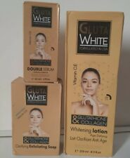 GLUTA WHITE GLUTATHIONE & COLLAGEN WHITENING LOTION 250ml + SERUM 60ml + Soap