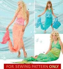 RETIRED SEWING PATTERN! MAKE ARIEL~LITTLE MERMAID COSTUME! CHILD 2~4/GIRLS 8~12