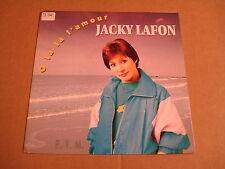 45T SINGLE / JACKY LAFON - O LA LA L'AMOUR / SOUVENIR