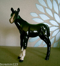 ROYAL DOULTON HORSE PONY FOAL ADVENTURE BROWN GLOSS MODEL No  DA 72A  PERFECT