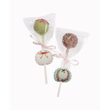 Frills & Frosting Cake Pop Kit, Pack of 12: Stickers, Sticks, Cello Bags, Ribbon