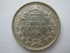 Canada 5 cents 1919, NVF.