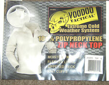 Thermals polypropolene ECW  Top New voodoo tactical   long johns  XL