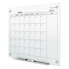 Quartet Infinity Magnetic Glass Calendar Board 48 x 36 GC4836F
