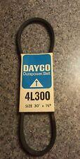 "Dayco Durapower - P/N: 4L300 (Size: 30"" x 1/2"")"