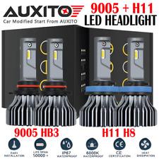 H11 9005 LED Headlight Kit High/Low Beam For Honda Civic 2014-2018 Accord 13-17