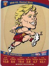 2011 Teamcoach Magic Wild-02 Daniel Rich Brisbane Lions