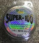 Platypus Super 100 mono Fishing Line 40lb 300m Clear 0.49mm ,reels tackle