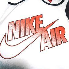 Vtg Nike Air Air Force Basketball Tank Top  Med fits like L Retro