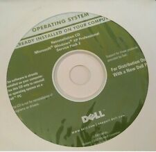 Dell Reinstall CD Microsoft Windows XP Professional Service Pack 2 Sealed New