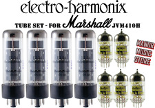 Tube Set - for Marshall JVM410H, Electro Harmonics russian tubes
