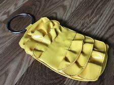 Clutch CHATEAU Yellow Purse CUTE Handbag