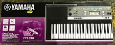 Yamaha YPT-240 61-Key Portable Electronic Keyboard Digital Music Piano - BNIB