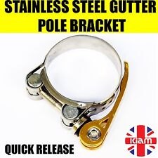 More details for gutter vacuum pole quick release clamps 1 -10 you choose