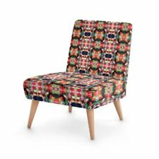 Kaleidoscope Designer Occasional Chair, Handmade to order Sustainable Beech Wood
